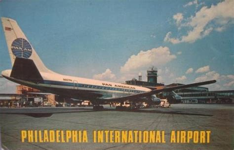 Section Philadelphia Airport by Pan Am Jet Aircraft