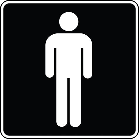 man bathroom bathroom signs clip art clipart best
