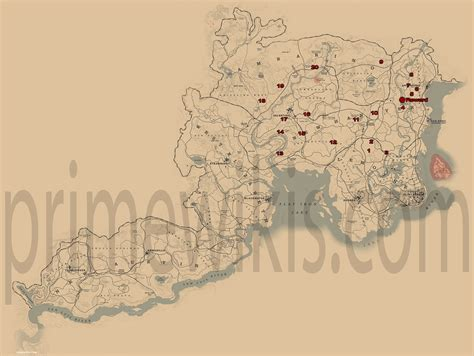 dreamcatcher rdr2 map dreamcatchers locations red dead redemption 2 guide