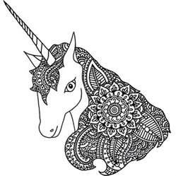 unicorn mandala coloring pages 498 best coloring zebra images on
