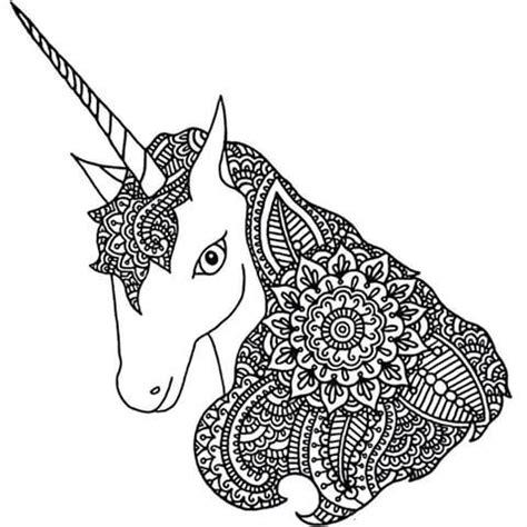 unicorn mandala coloring pages 526 best coloring horse zebra images on pinterest