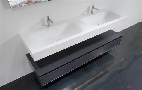 integrated bathroom sink segno integrated top wall mount by antonio lupi ambient