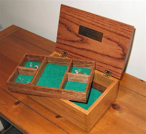 how to make a photo box for jewelry oak jewelry box featuring box joint construction