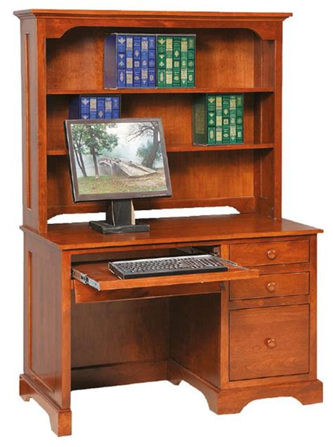 amish computer desks amish economy computer desk