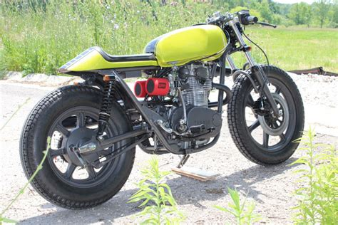 Lime Green Suzuki Thecaferacercult Yamaha Xs650 Lime Green Goodness