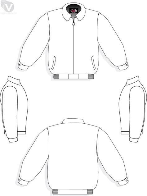 Bomber Jacket Design Template | jacket template jacket designs pictures