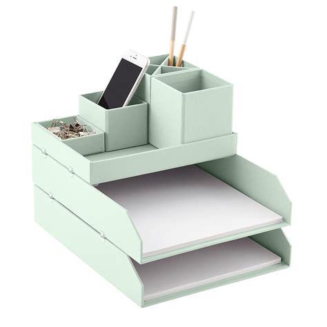 container store desk organizer bigso mint stockholm desktop organizer the container store