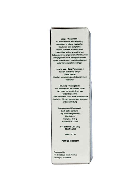 Gading Safe Care Minyak Angin 10ml safe care minyak angin aroma therapy btl 10ml klikindomaret