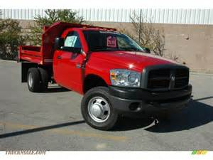 Dodge Dump Truck For Sale 2009 Dodge Ram 3500 St Regular Cab 4x4 Chassis Dump Truck