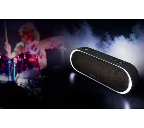 Sony Srs Xb20 Black sony srs xb20 portable bluetooth wireless speaker black