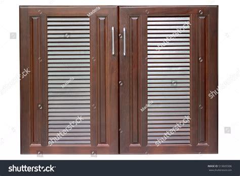 Wooden Cabinet Doors Stock Photo 519605506 Shutterstock Stock Cabinet Doors