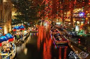 riverwalk christmas lights the famous riverwalk in