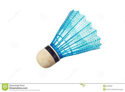 Blue Badminton Shuttlecock Stock Photo Image Of Sport