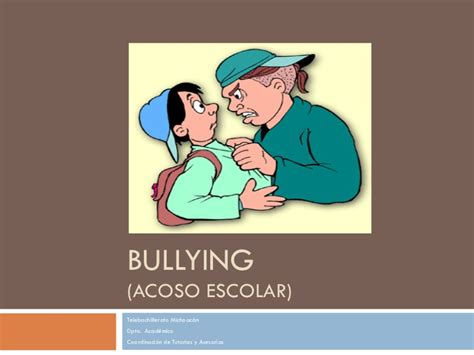acoso escolar bullying slideshare bullying y acoso escolar