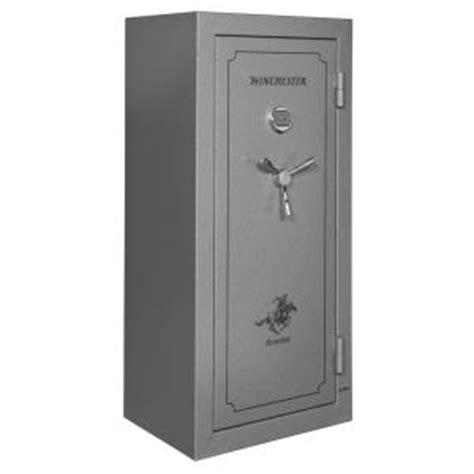 Small Gun Safe Home Depot Winchester Safes Ranger 24 Gun Electronic Lock Ul Listed