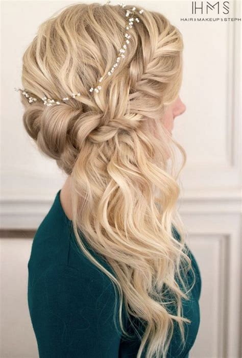 prom hairstyles down to the side 25 best ideas about kids wedding hairstyles on pinterest