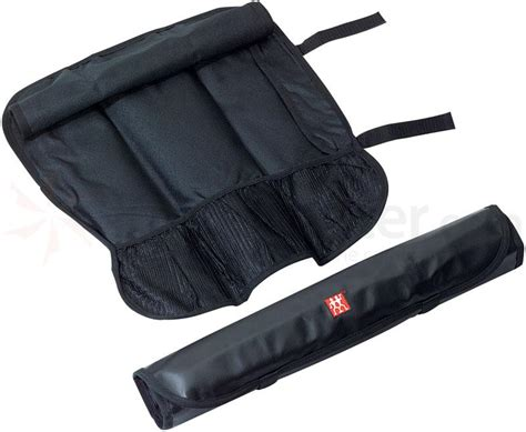 Bags That Pack A Punchor A Knife 2 by Zwilling J A Henckels Storage Black Kitchen Knife Roll