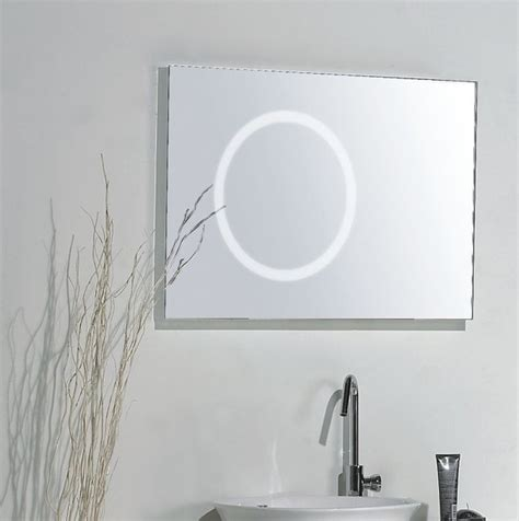 mirror with integrated lighting modern