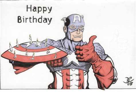 Captain America Birthday Card The Avengers Text Messages Steve S Date Of Birth Page