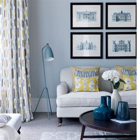 Pale Yellow And Gray Living Room 25 Best Ideas About Blue Living Rooms On