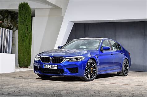 first bmw m5 2018 bmw m5 first look review motor trend