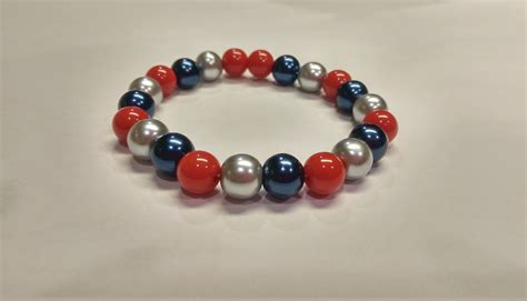 New England Patriots Themed Bracelets