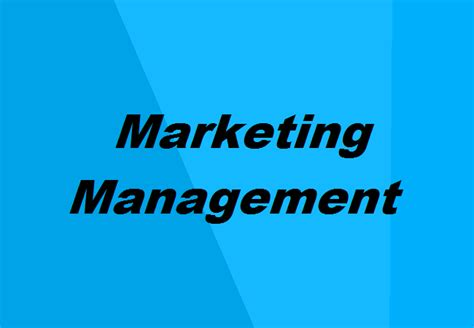 Mba In Marketing Scope by Mba In Marketing Management Details Eligibility Scope
