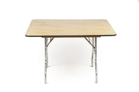 48 square table table 48 quot x48 quot square a b partytime rentals