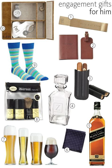 best 25 engagement gifts for him ideas on pinterest