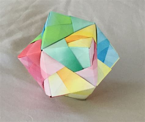 How To Make An Origami Sphere - a school of fish japanese origami origami field trip
