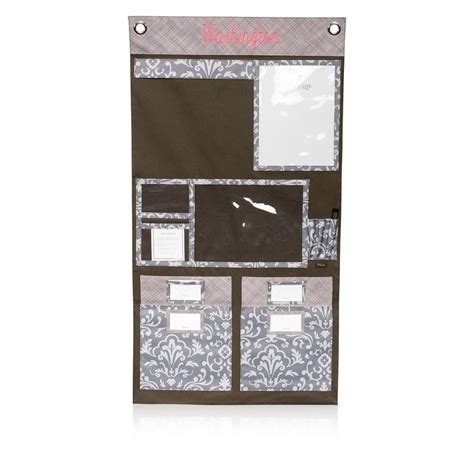 hang up home organizer in grey parisian pop for 45 the