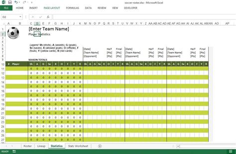 soccer roster free excel template excel templates for