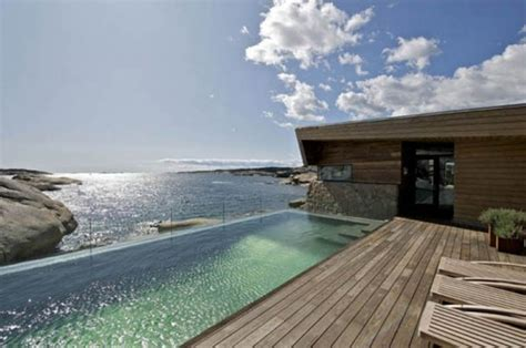 wooden beach house designs outdoor swimming pool design with wooden and stone materials home design and interior