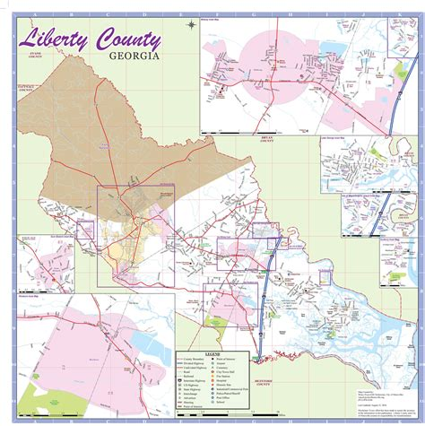 Liberty County Ga Property Records Liberty County Map 2016 Liberty County Hospitality Commerce