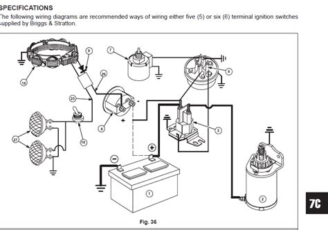 briggs and stratton wiring diagram briggs and stratton wiring diagram
