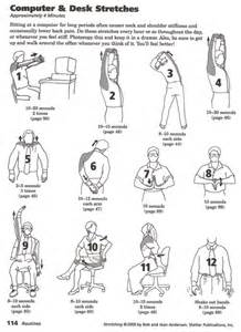 happy healthy back exercises to do at your desk