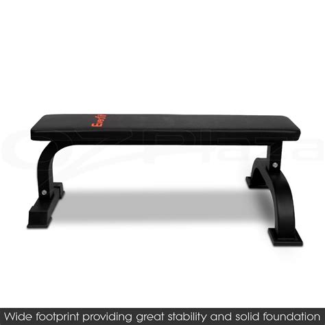 flat workout bench fitness flat weight bench press gym strength training home