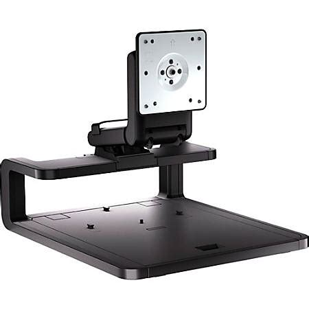 desk depth for 24 monitor hp adjustable display stand for 24 monitors black by