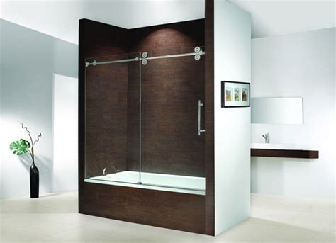 bathtub with glass door shower door of canada inc toronto manufacturer and