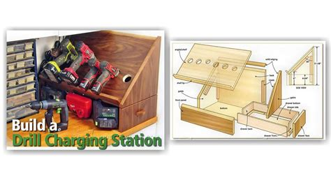 charging station plans cordless drill charging station plans woodarchivist