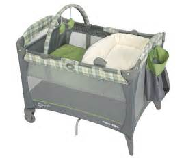 graco green reversible bassinet changer travel