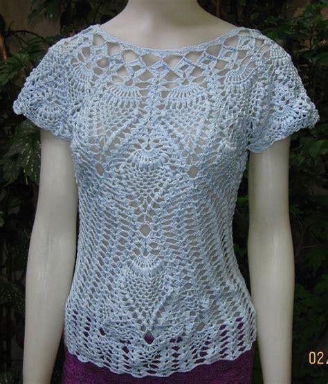 blusa vermelha de crochet crochet clothing pinterest blusa tejida en crochet con algodon mercerizado por