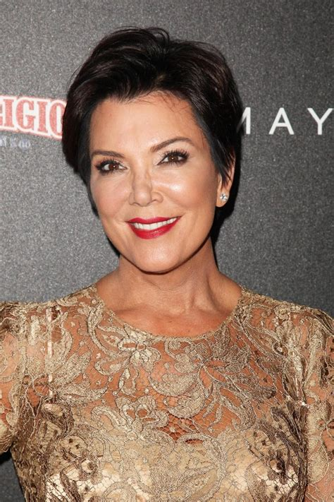 kris jenner hair and eye color kris jenner and her short layered haircut hair world