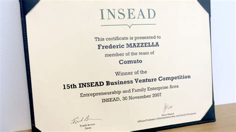 Insead Distance Mba by Blablacar S Inside Story 1 Think It Build It Use It