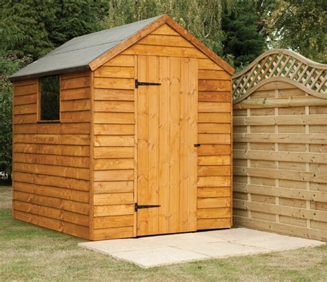 5x7 Garden Shed Forest Garden 5x7 Overlap Apex Shed Single Window 163 289 99