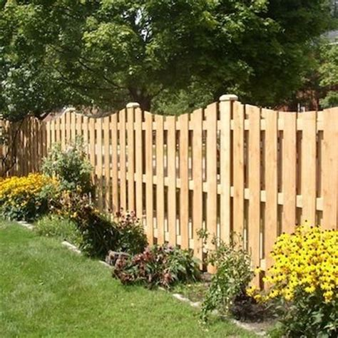 Cost Of Backyard Fence by 25 Best Ideas About Wood Fences On Backyard