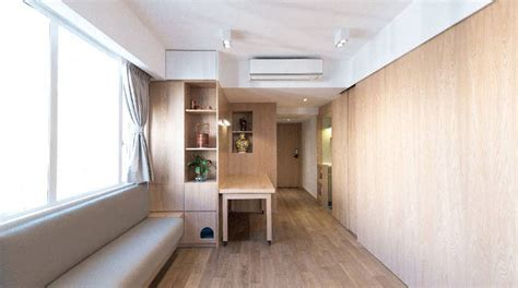 small studio apartment auto design tech small hong kong apartment uses low tech ideas to maximize