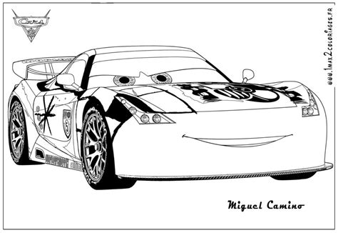 Cars 2 Coloring Pages Jeff Gorvette | coloriage cars 2 jeff gorvette cars 2 coloring pages jeff