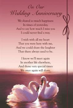 Wedding Anniversary Quotes For A Deceased Husband by Deceased Husband And Quotes Anniversary