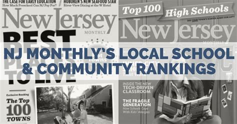 nj monthly guides   local communities  schools